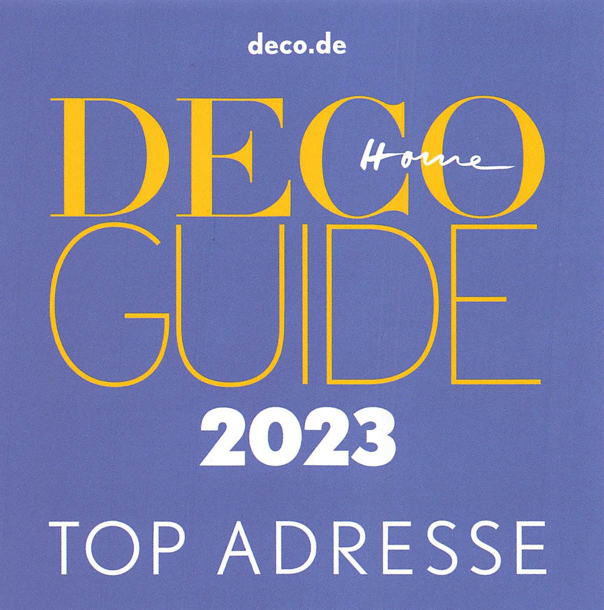 DECO - TOP-Adresse - Exklusiver Inneneinrichter